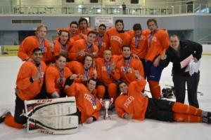 Tigers Orange wins the Nike Bauer Showcase for...